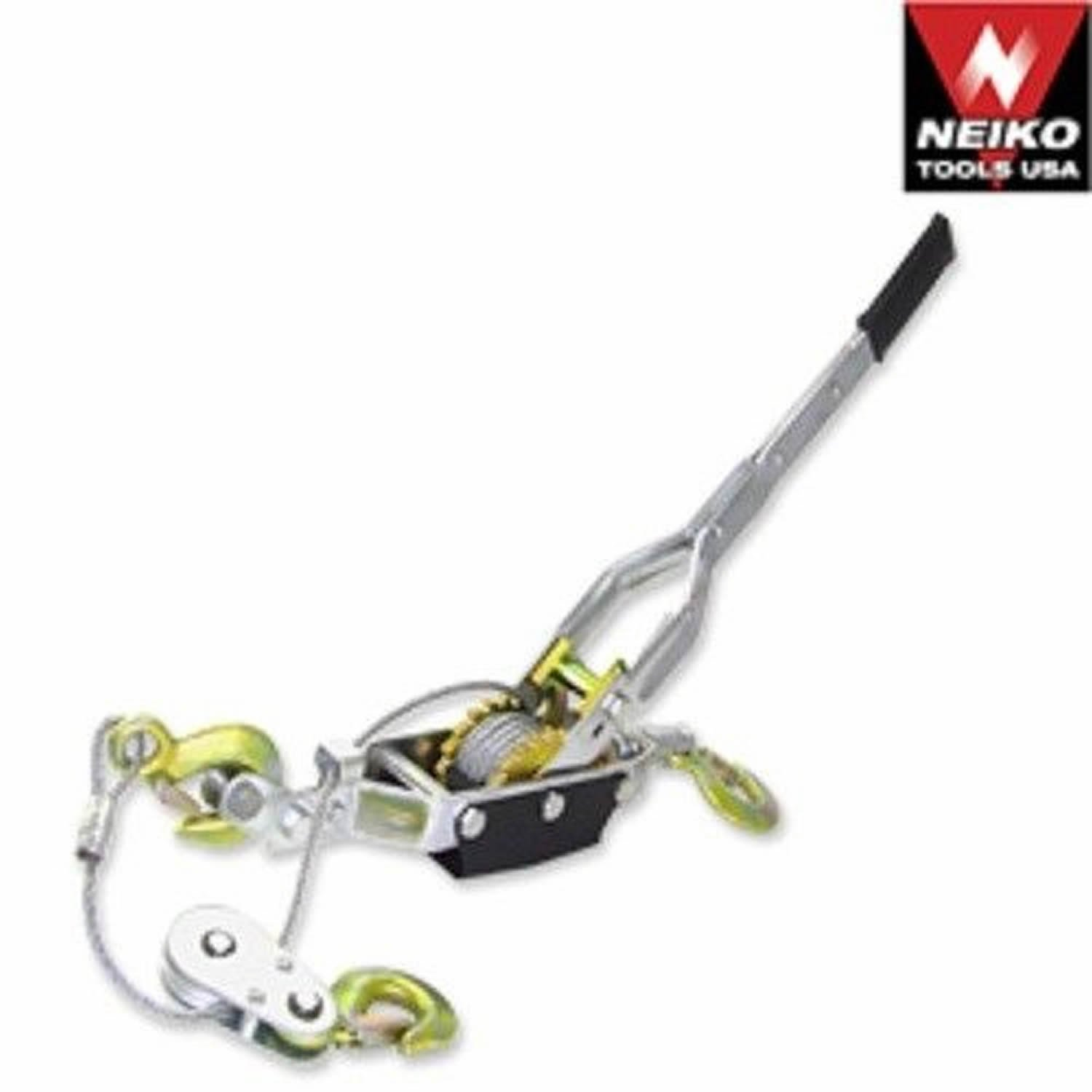 5 Ton Hand Come A Long Ratchet Winch Power Puller Hoist Cable Pulling Tool