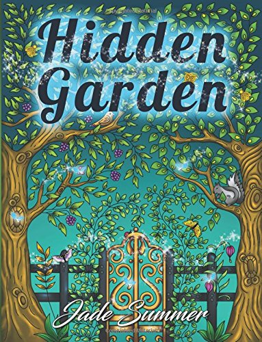 Hidden Garden Coloring Relaxing Perfect