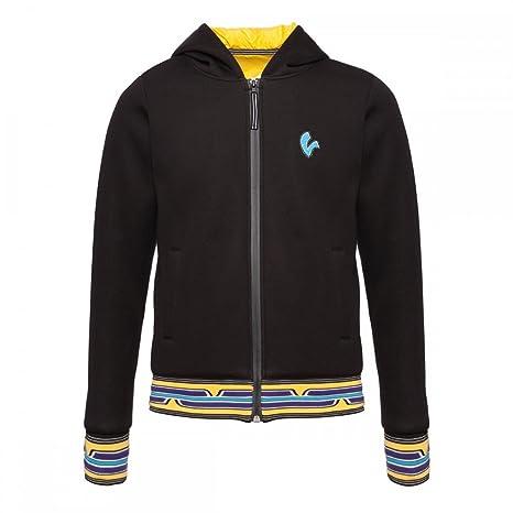 Original Vespa – Sudadera para hombre negro, amarillo