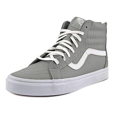 vans U SK8 HI ZIP CA croco grau: : Schuhe & Handtaschen