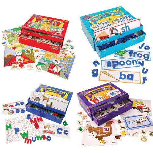 All 4 Phonics Center Kits by Constructive Playthings