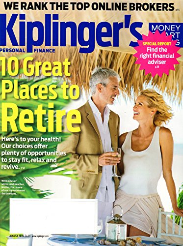 Kiplinger's Personal Finance Magazine August 2016   10 Great Places to Retire