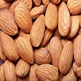 Raw Almonds - Bulk Raw Almonds 10 Pound Value Box - Freshest and highest quality nuts from US based farmers markets - Bulk nuts for events, homes, restaurants, and baked goods. (10 LBS)