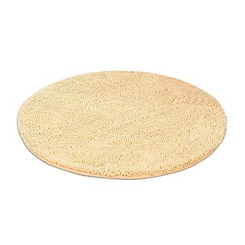 Superieur HYRL Carpets Tapis Rond Doux Chenille Shag Salle De Bains Tapis Intérieur  Anti Dérapant Absorbant