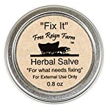 Free Reign Farm Fix It 0.8 Ounce Herbal and Essential Oil Salve 2 Pack