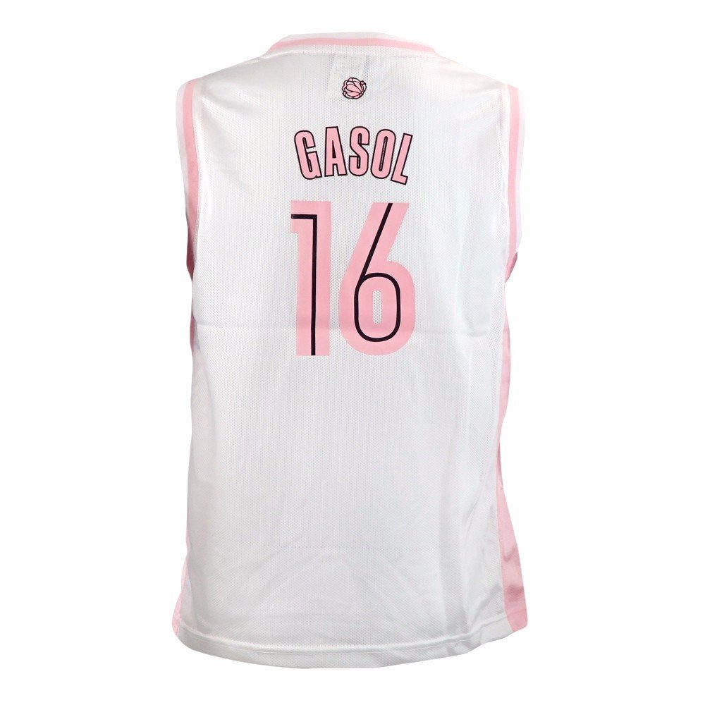 outlet store a9b13 da1ab Amazon.com : adidas Marc Gasol Memphis Grizzlies NBA White ...