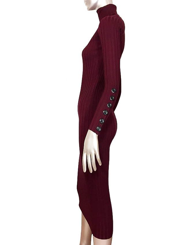 6bc82995 Zara Women Long Ribbed Dress 3471/005 at Amazon Women's Clothing store: