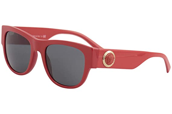 ac713703809c Amazon.com  Versace VE4359 Sunglasses 506587-55 - Red Frame