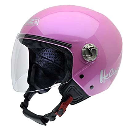Amazon.es: NZI 050203G203 Helix IV Metal Casco de Moto ...
