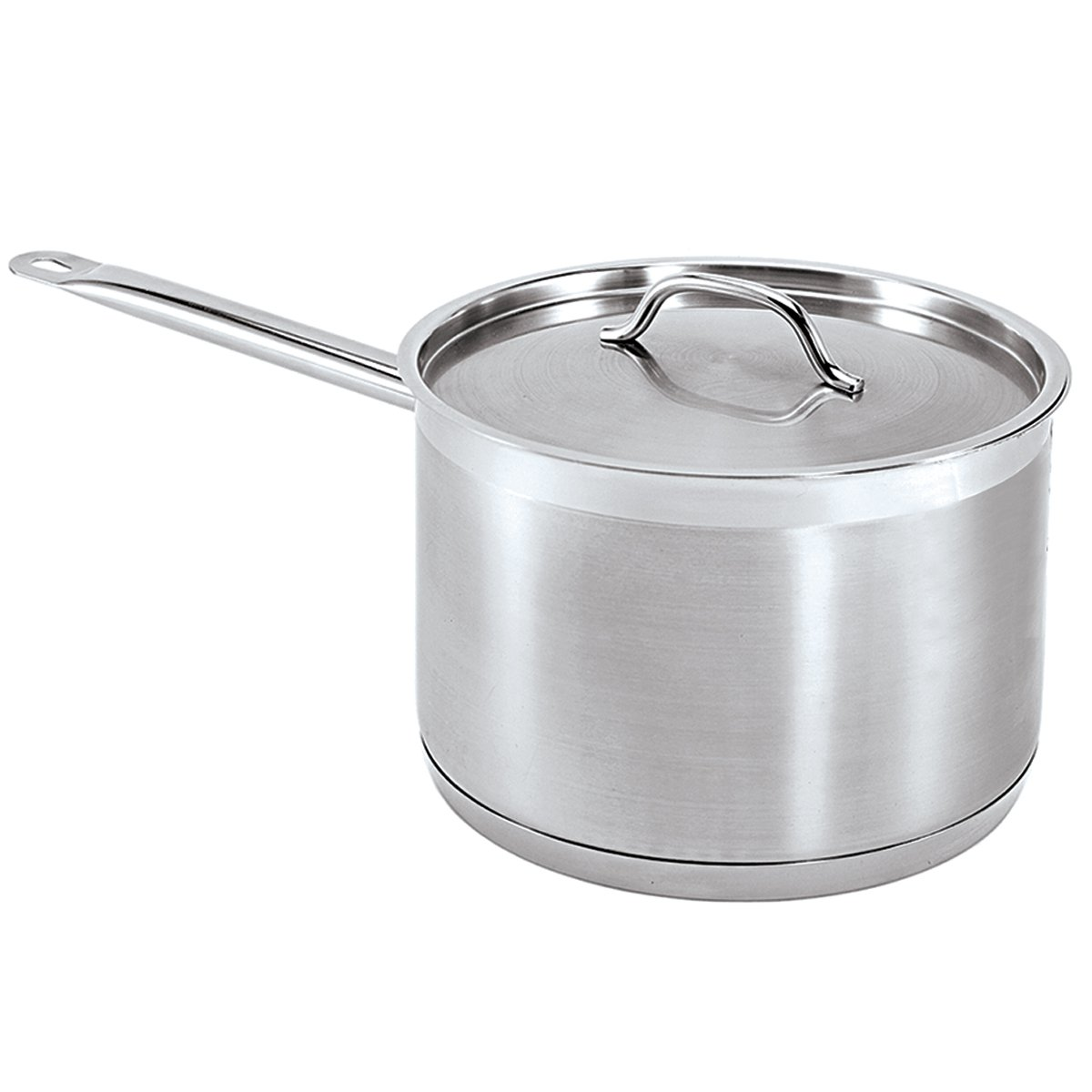 SSP-2 Update International 2 Qt Induction Ready Stainless Steel Sauce Pan w//Cover
