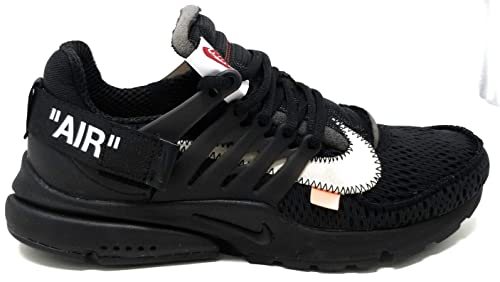 Nike Air Presto x Off White - Black/White-Cone Trainer ...
