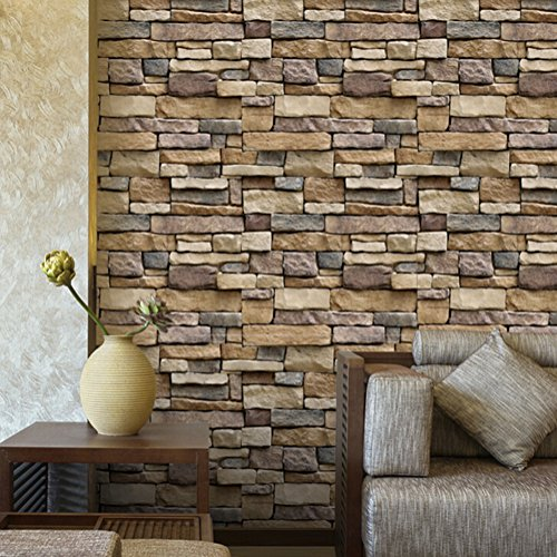 Faux Brick Stone Texture Background 3D Blocks Wall for sale  Delivered anywhere in Canada