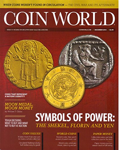 Coin World Magazine, Vol. 55, Issue 2851 (December, 2014) - Grading Walking Liberty Half Dollars