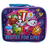 Moose Shopkins Besties for Life! Girls Canvas Insulated Lunch Bag
