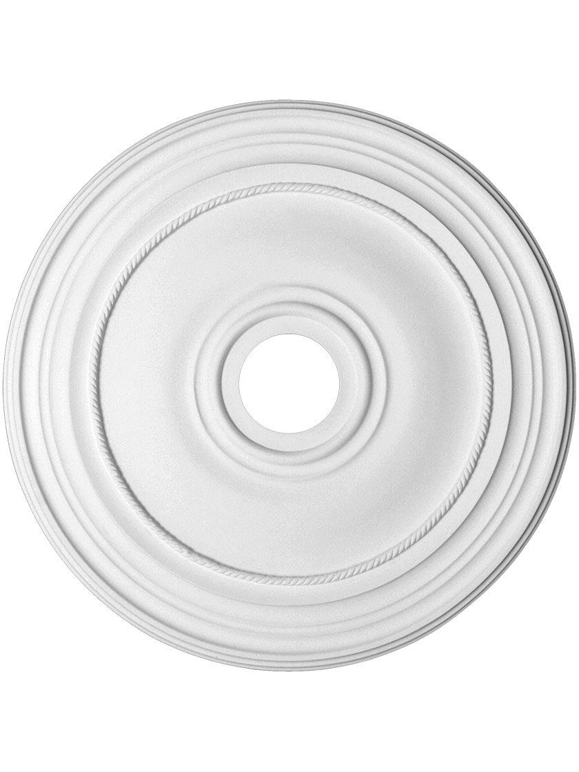 Bristol 29 3/4'' Ceiling Medallion with 4'' Center Hole