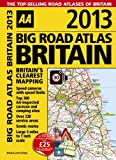 2013 Big Road Atlas Britain