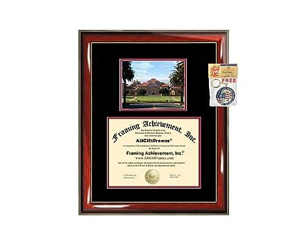 Amazon com - Stanford University Diploma Frame Graduation Degree