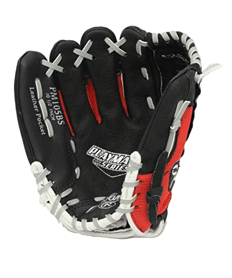 Amazon.com   Rawlings Playmaker 10.5-Inch Youth Baseball Glove Right ... f80d1d29ae87