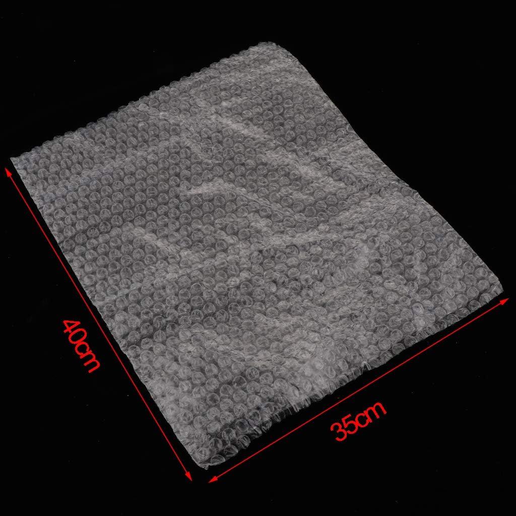 18x20cm Homyl Paquet de 50 Pochettes Bubble Out Pochettes /à Rembourrage Transparent Poche /à Bulles