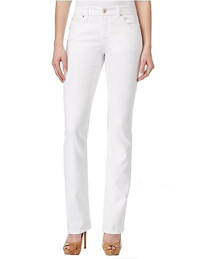 aa3838f0bfeea INC International Concepts Women s Regular-Fit Bootcut Denim Jeans ...