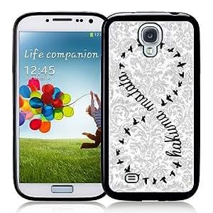 Galaxy S4 Case Vintage Damask Samsung Galaxy i9500 Case Snap On Case