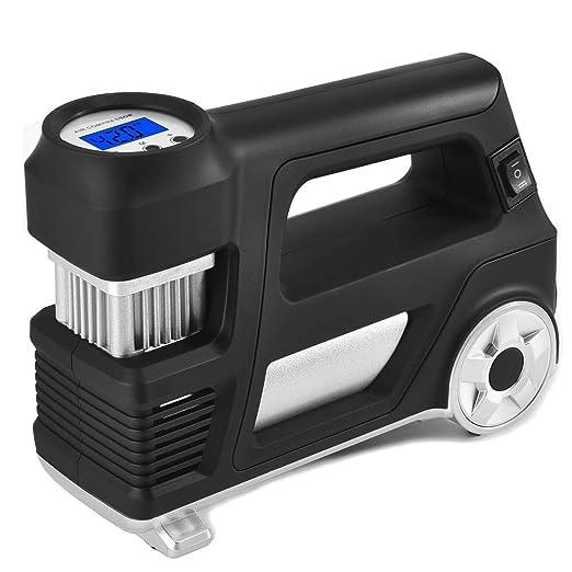 Amazon.com: Bomba de aire compresor inflador de neumáticos ...