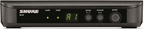 Shure BLX4 Single Channel Receiver, H9