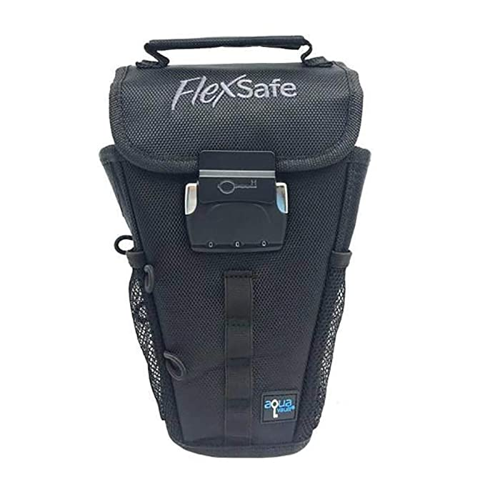 Flex Safe: Anti Theft Portable Safe And Beach Chair Vault. Packable & Slash Resistant. As Seen On Shark Tank. 2019 Version by Aqua Vault