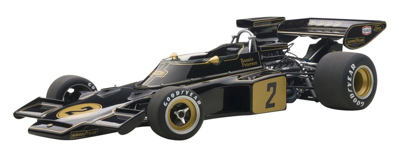 nuevo listado AUTOart- 87329 – – – Lotus 72E – 1973 – Negro/Oro – Escala 1/18  tienda en linea