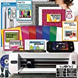 Brother ScanNCut 2 Machine Vinyl Transfer Glitter Heat Transfer Hook Designs