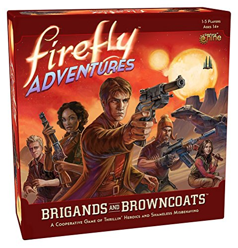 Firefly Adventures: Brigands and Browncoats Board Game (Gears Of War Board Game Mission Pack)