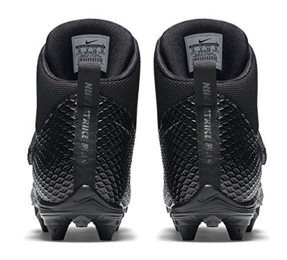 Nike Mens Lunarbeast PRO TD Football Cleats (10, Anthracite / Metallic Silver-black) by Nike (Image #5)