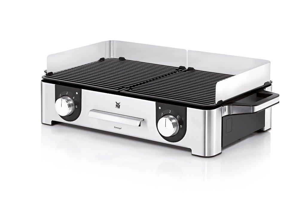 Wmf Elektrogrill Abdeckung : Amazon wmf lono family grill w getrennt regulierbare