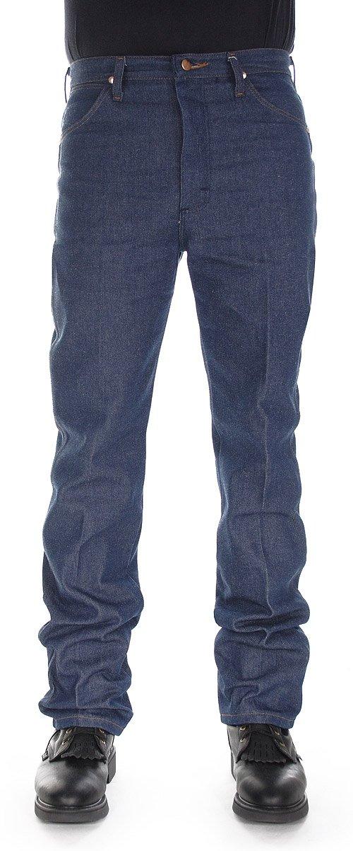 Wrangler Men's 13MWZ Cowboy Cut Original Fit Jean, Rigid Indigo, 34W x 32L by Wrangler