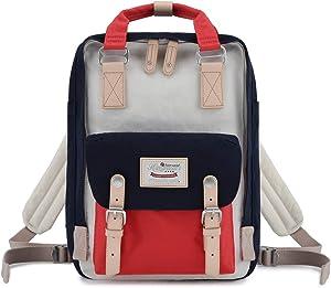 "Himawari Backpack/Waterproof Backpack 14.9"" College Vintage Travel Bag for Women,13inch Laptop for Student (HIM-44#)"