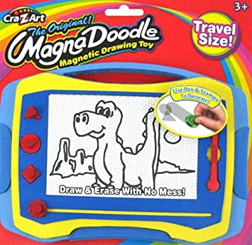 Cra Z Art Color Magna Doodle Deluxe Magnetic Drawing Toy