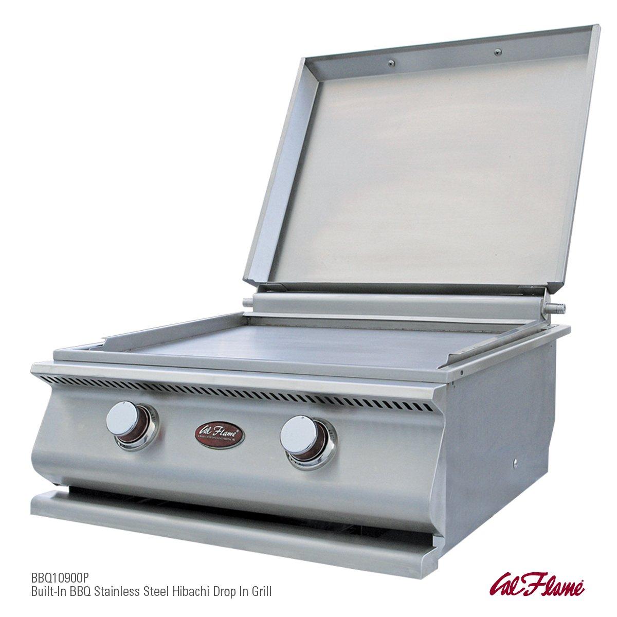 amazon com calflame bbq13900p hibachi drop in grill