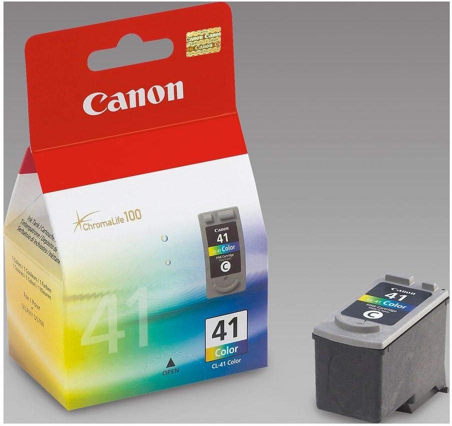 Canon Tintenpatrone Cl 41 Farbtinte C M Y 12 Ml Original Für Tintenstrahldrucker Bürobedarf Schreibwaren