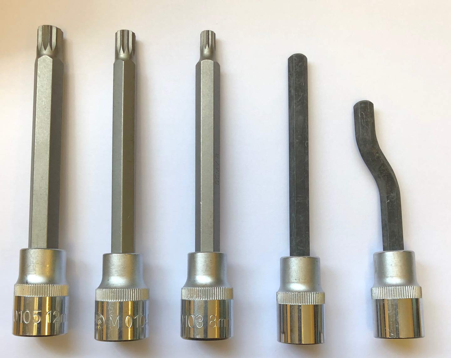 ZDMak 5 Piece Head Bolt Drivers
