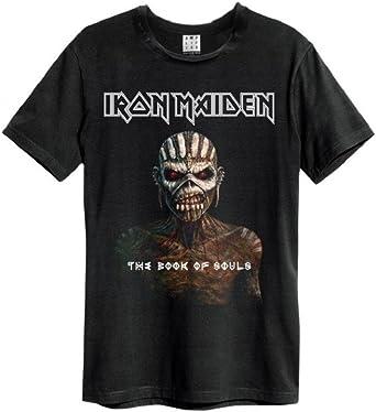 Amplified Iron Maiden Book Of Souls???Camiseta negro M: Amazon.es: Ropa y accesorios