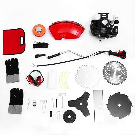 Protable 65cc Desbrozadora Cortador de vidrio Cortador de ...