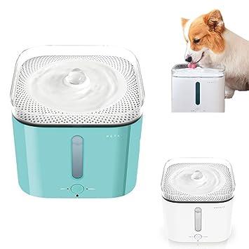 yinshui Dispensador de agua inteligente para mascotas, recipiente de agua para perros y gatos con