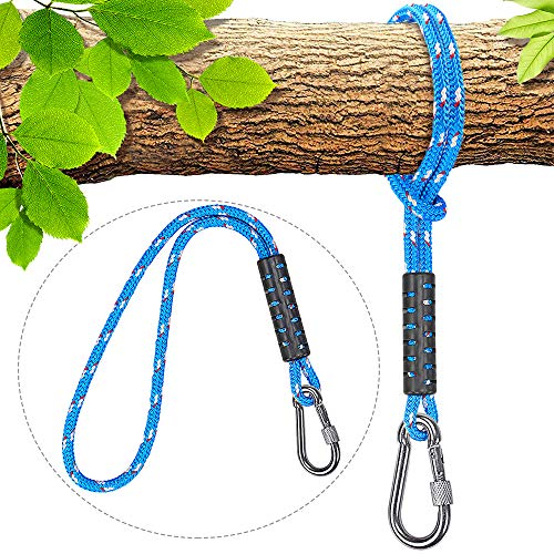 Why Should You Buy Besthouse Tree Swing Ropes Holds 2500lb Capacity, Hammock Tree Swing Hanging Stra...
