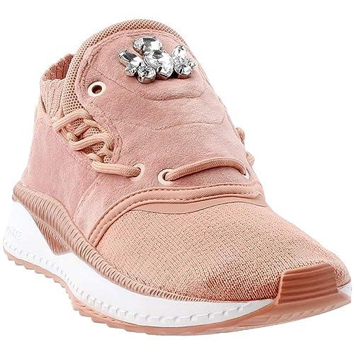 750270a2a2f PUMA Tsugi Shinsei Velour Cameo Brown  Amazon.ca  Shoes   Handbags