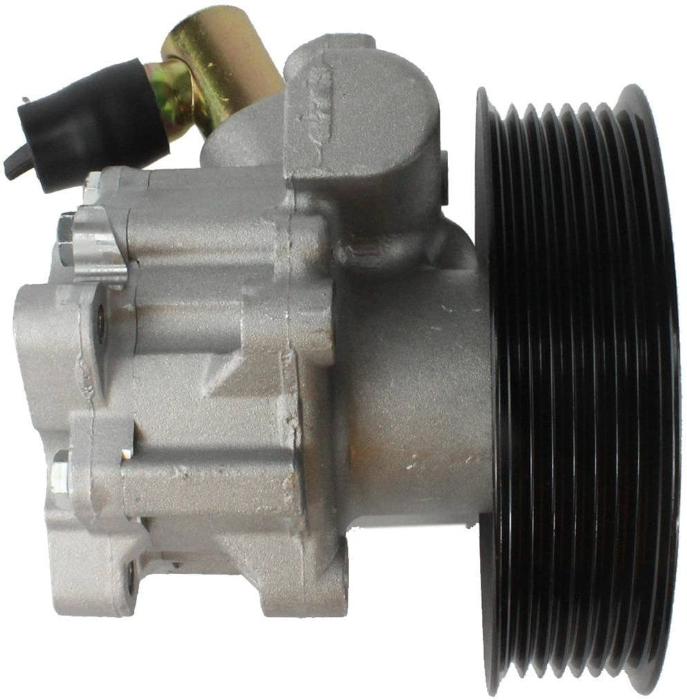 Mercedez-Benz 3.0L V6 DOHC Turbocharged Brand new DNJ Power Steering Pump w//Pulley PSP1237 for 08-09 No Core Needed