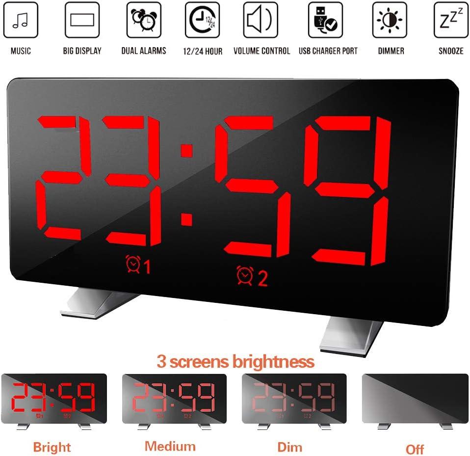Electronics & Photo Clock Radios gaixample.org Blue, FM Radio FM ...