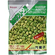 Kasugai Roasted Hot Wasabi Flavor Green Peas (Japanese Import)