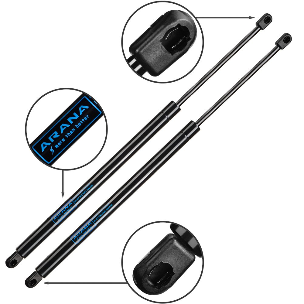 For Chevy Trailblazer Gmc Envoy Tailgate Shocks 1998 Jeep Grand Cherokee Lift Gate Wiring Diagram Liftgate Tail Hatch Trunk Pair 2pc Pack Of 2 Automotive