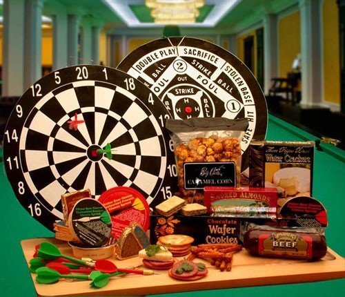 Tray Hostess Time (Dartboard Gift: Bullseye Deluxe Gift Set)