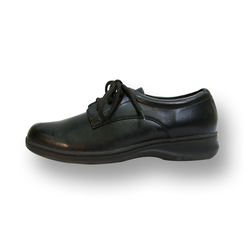 24 Hour Comfort  Alice Women Extra Wide Width Lace up Shoe Black 7.5 by 24 Hour Comfort (Image #2)